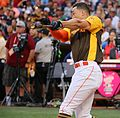 Giancarlo Stanton competes in final round of the '16 T-Mobile -HRDerby (28568339195).jpg