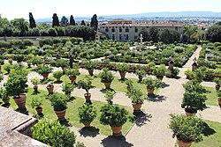 Villas mediceas - Wikipedia, la enciclopedia libre