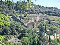 Gigondas - vue sur le chateau.JPG
