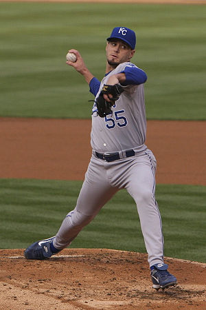 Kansas City Royals - Gil Meche pitching in 2008