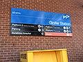 Ginifer railway station directional signage.JPG