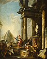 Giovanni Paolo Panini - Alexander the Great at the Tomb of Achilles - Walters 37510.jpg