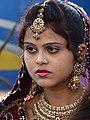 Girl in Wedding Procession - Agra - Uttar Pradesh - India (12612778513).jpg