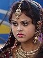 Girl in Wedding Procession - Agra - Uttar Pradesh - India (12612778513).jpg