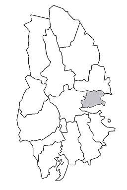 Glanshammars herreders beliggenhed i Närke.