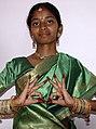 Goa, India -- Dancer in Indian sari.jpg