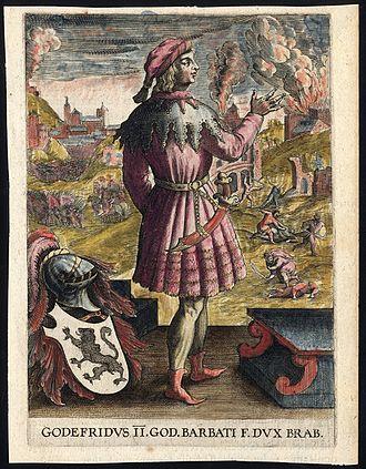Godfrey II, Count of Louvain - Image: Godfrei 2