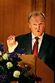Goran Persson, Sveriges statsminister, talar vid Nordiska radets session i Stockholm 2004.jpg