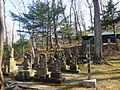 Gotenzan Shrine - stone statues.JPG