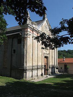 Gottasecca. Santuario della Madonna Assunta. Facciata