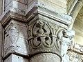 Gournay-en-Bray (76), collégiale St-Hildevert, bas-côté nord, chapiteau de l'arcade vers le transept, côté sud 2.jpg