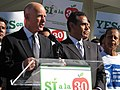 Gov. Jerry Brown and Mayor Villaraigosa (8117050887).jpg