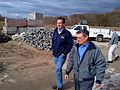 Gov. Malloy views Hurricane Sandy damage in Guilford (8142928851).jpg