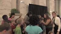 File:Governor Nikki Haley welcomes students from Fork Shoals Elementary to the Statehouse.webm