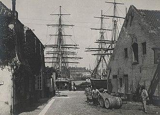 Grønlandske Handels Plads - Grønlandske Handels Plads in the 1900s