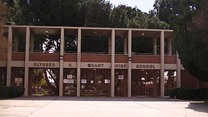 Grant High School (Los Angeles) - Image: Grant HSLA