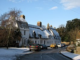 Grantchester in the snow - geograph.org.uk - 1654414.jpg