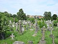 Graves in Hampstead Cemetery - geograph.org.uk - 530151.jpg