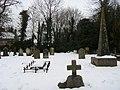Graveyard Lower Hartwell - geograph.org.uk - 1186444.jpg