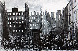 Great Fire of Edinburgh - Great Fire of Edinburgh by D O Hill
