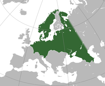 Boundaries of the Nazi planned Greater Germanic Reich Greater Germanic Reich.png
