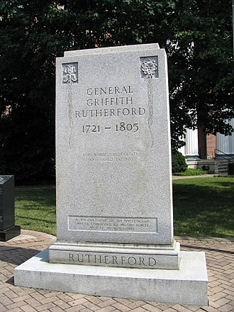 Griffith Rutherford - Image: Griffith Rutherford marker