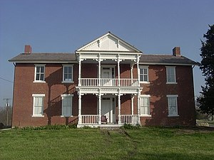 National Register of Historic Places listings in Kansas - Grinter Place