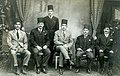 Group photograph of El-Mansoura port staff - 12 March 1928.jpg