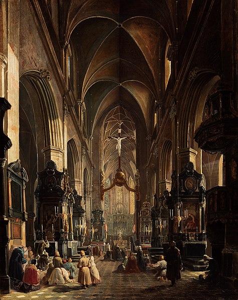 File:Gryglewski St. Mary's Church in Kraków.jpg
