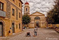 Guamaggiore (Sardegna) - Parrocchiale di San Sebastiano martire.jpg