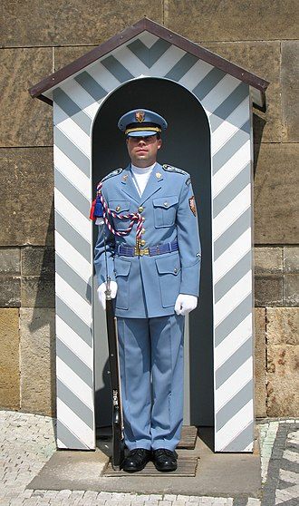 Prague Castle Guard - Image: Guard Prague Castle