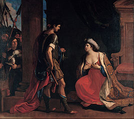 Cleopatra and Octavian