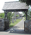 Guernsey July 2011 250, Castel churchyard gate.jpg