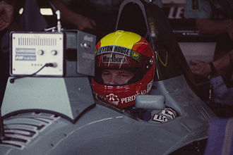 Maurício Gugelmin - Gugelmin at the 1991 United States Grand Prix