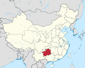 Guizhou in China (+all claims hatched).svg