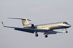 Gulfstream G550 der Windrose Air