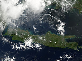 Giava vista da un satellite artificiale, 2006