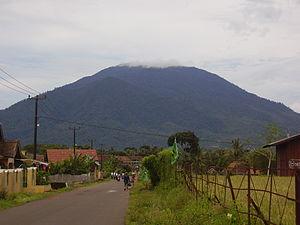 Gunung Karang - Mount Karang in Banten. Photo courtesy Sumarso