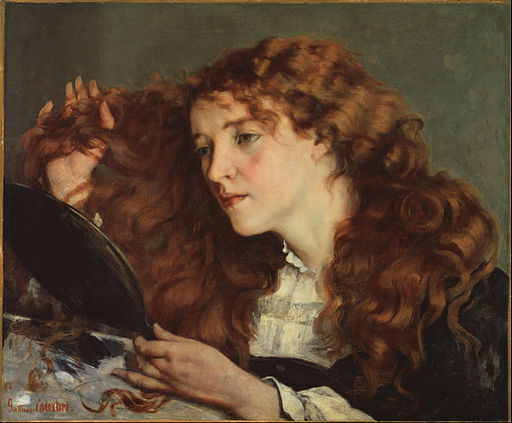 Gustave Courbet - Jo, the Beautiful Irish Girl - Google Art Project