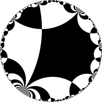 Truncated infinite-order square tiling - Image: H2chess 44ib