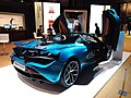 HKCEC 香港會議展覽中心 Wan Chai 蘇富比 Sotheby's Auction preview exhibition 麥華倫 Mclaren race car 720S Spider blue March 2019 SSG 02.jpg