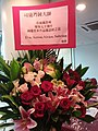 HKCL 銅鑼灣 CWB 香港中央圖書館 Hong Kong Central Library 展覽廳 Exhibition Gallery flowers March 2016 SSG 01.jpg