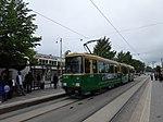 HKL tram line 10 at Lasipalatsi.jpg