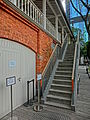 HK 北角 North Point 油街實現 Oil Street Art Space red brick house Mar-2014 office outside stairs.JPG