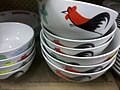 HK Sheung Wan 98 Bonham Strand shop products Tableware rice bowls cock Oct-2012.jpg