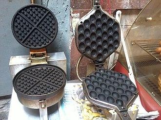 Egg waffle - Modern egg waffle pans