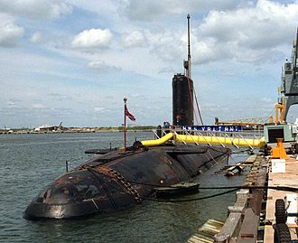 Rolls-Royce PWR - HMS Valiant, the first British nuclear submarine to be powered by a British built reactor