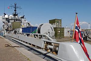 HNoMS Valkyrien (A535) - Image: H No MS Valkyrien Ship (A535)