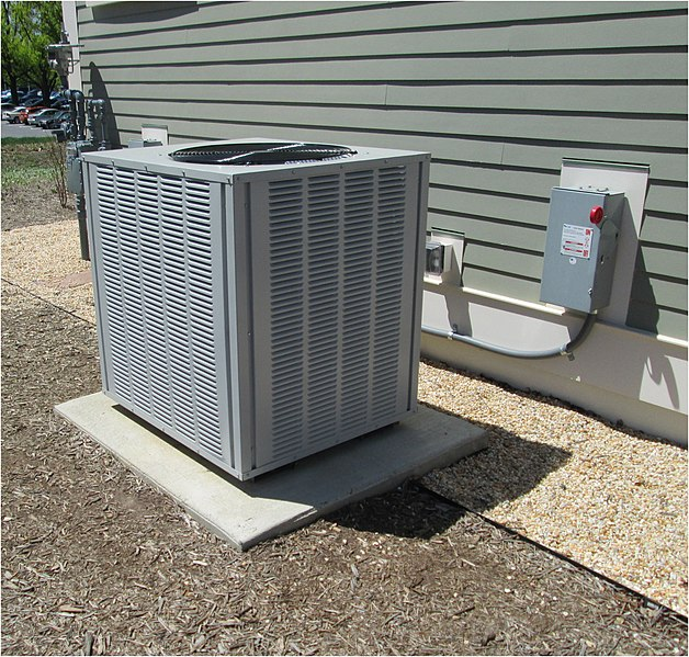 external air con unit