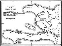 Haiti-Transportation-Haiti rail map 1925
